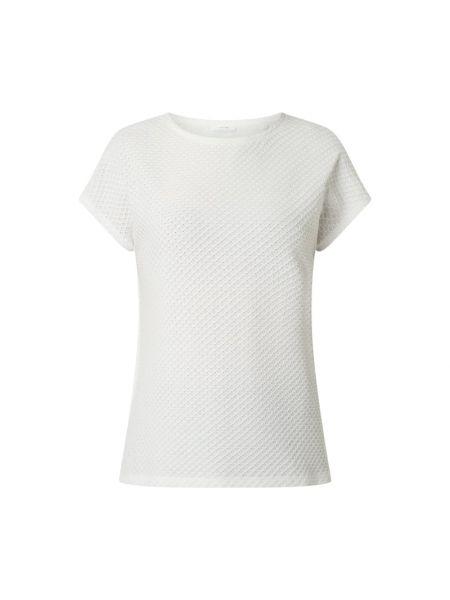 T-shirt bawełniana - biała Opus