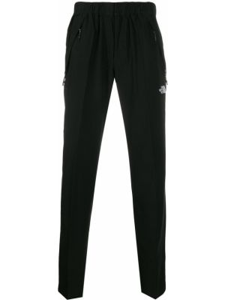 Czarne spodnie wełniane z haftem The North Face Black Series