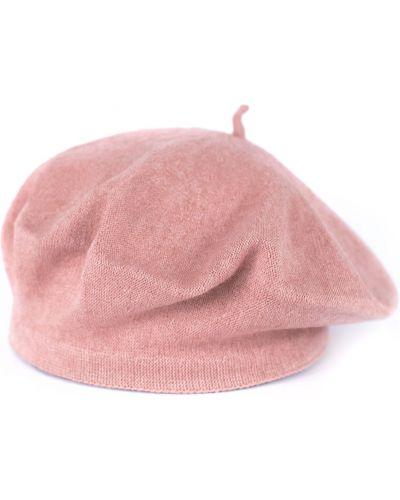 Różowy beret materiałowy Art Of Polo
