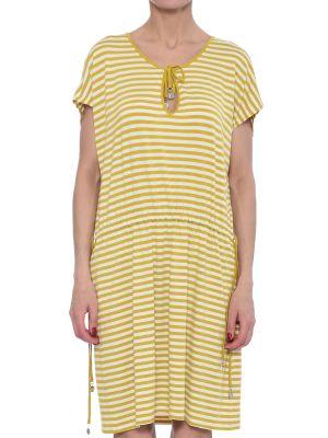Платье из вискозы - желтое Marina Yachting