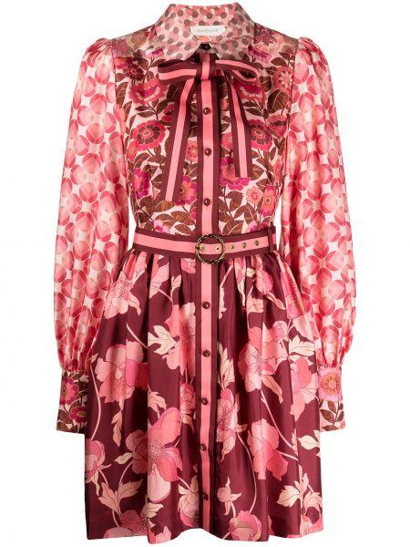 Платье макси с воротником Zimmermann