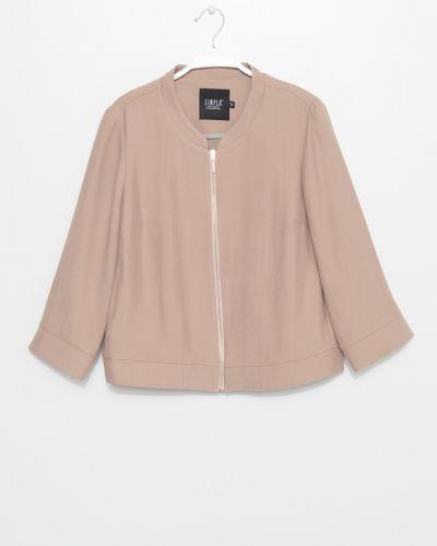 Утепленная куртка с карманами Simple