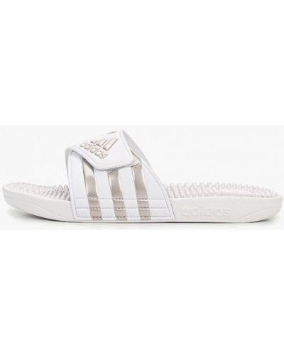 Белые сланцы Adidas