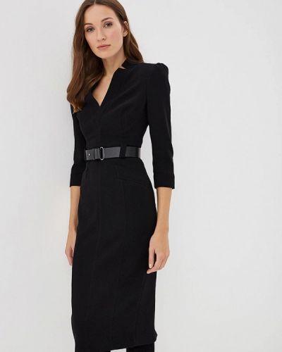 Платье осеннее черное Karen Millen