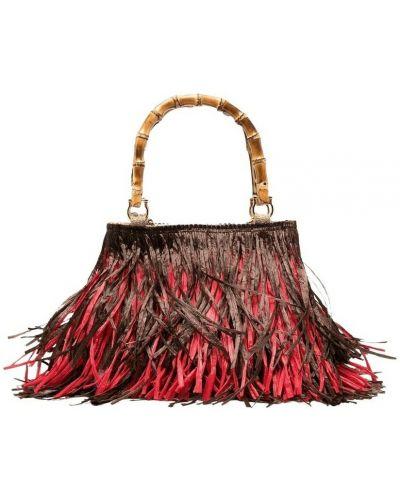 Czerwona torebka La Milanesa