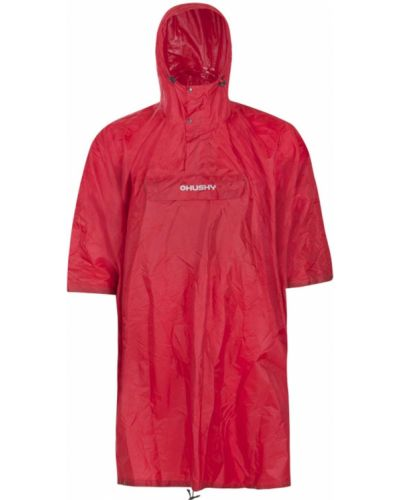 Płaszcz przeciwdeszczowy z kapturem z nylonu Husky