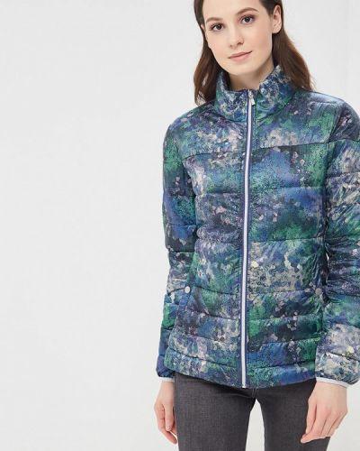 Утепленная куртка весенняя зеленая Luhta