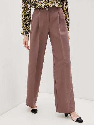 Расклешенные розовые брюки Irma Dressy