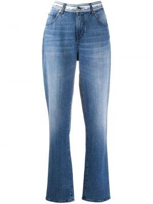 Прямые джинсы с высокой посадкой с поясом Jacob Cohen