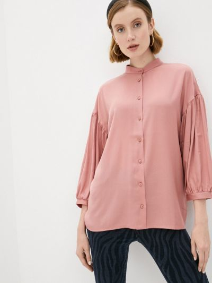 Розовая блузка с длинными рукавами синар