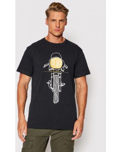 Czarna t-shirt Deus Ex Machina