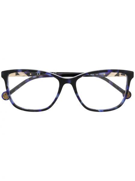 Очки квадратные металлические хаки Ch Carolina Herrera