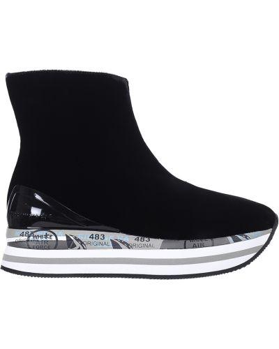 Черные ботинки Premiata