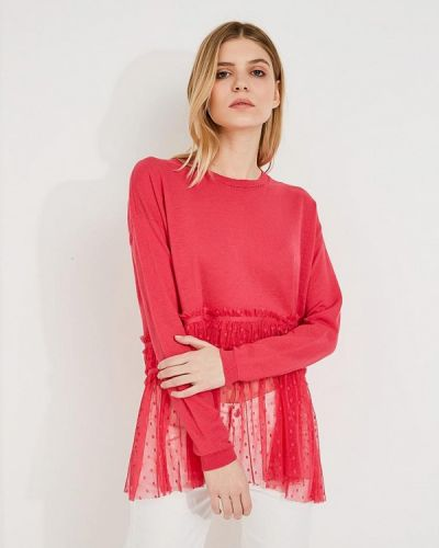 Розовый джемпер Patrizia Pepe