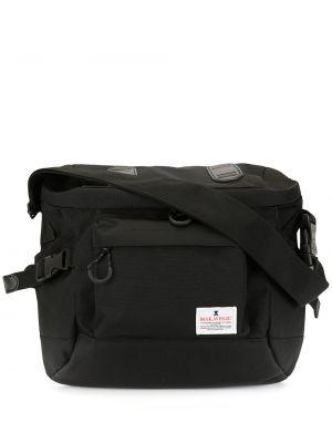 Черная сумка на плечо Makavelic
