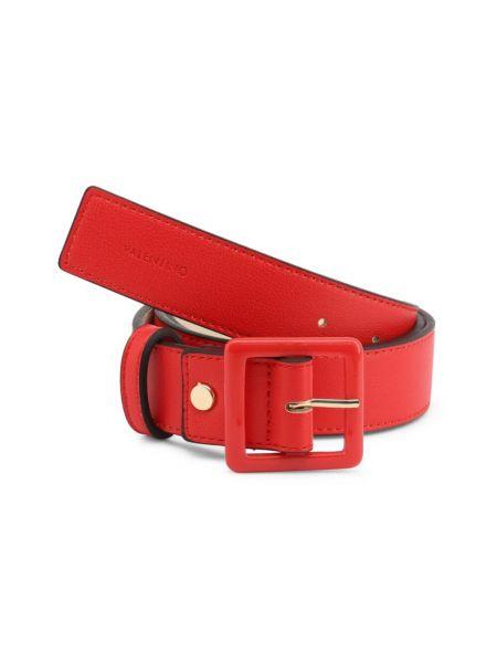 Czerwony pasek z paskiem Valentino By Mario Valentino
