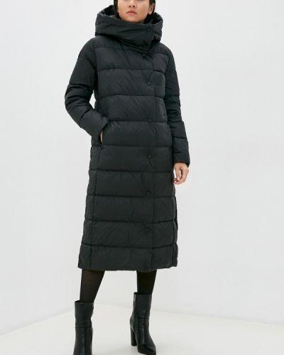 Теплая черная зимняя куртка Conso Wear