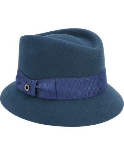 Синяя шапка кашемировая Loro Piana