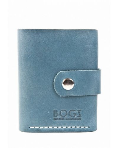 Голубой кошелек Bogz