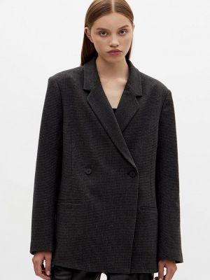 Черный зимний пиджак Lime