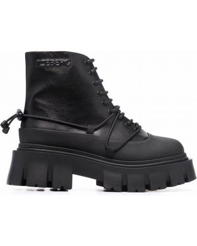 Черные ботинки на шпильке Iceberg