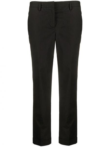 Spodnie czarne z kieszeniami Alberto Biani