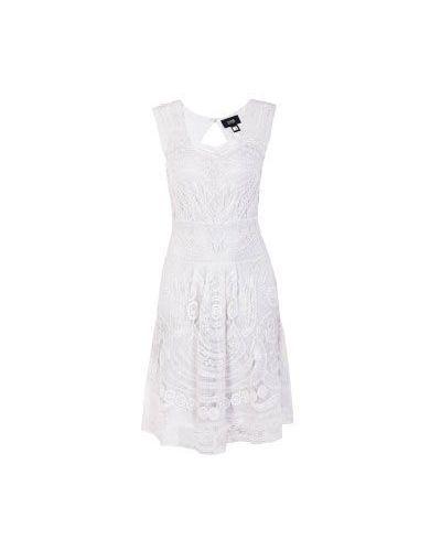 Вечернее платье летнее хлопковое Class Cavalli