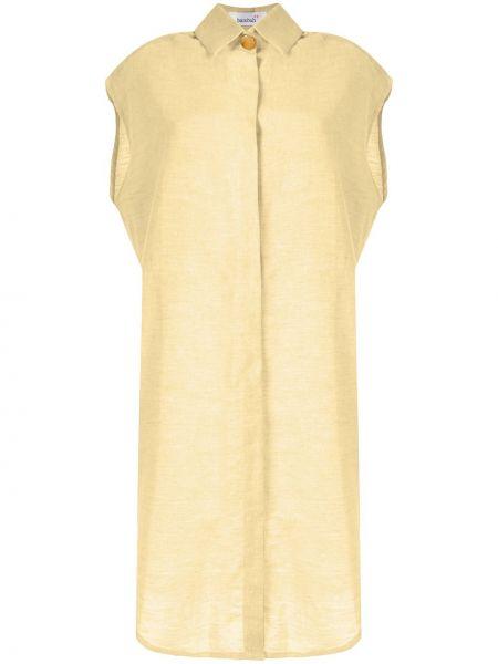 Платье миди классическое платье-рубашка Bambah