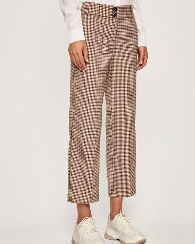Свободные брюки с карманами с поясом Only