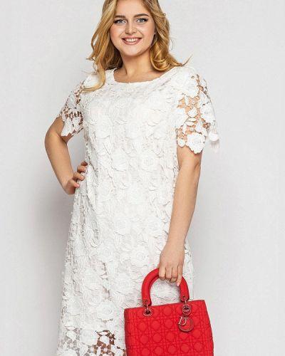 Белое вечернее платье Vlavi