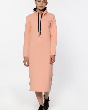 Платье коралловый платье-толстовка Kidonly