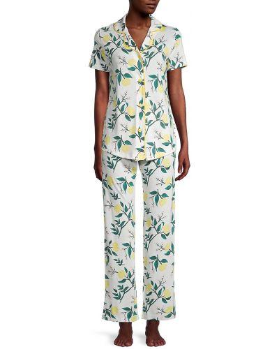 Хлопковая пижама для сна с короткими рукавами Cosabella