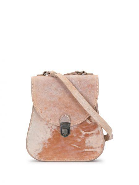 Кожаная розовая кожаная сумка Cherevichkiotvichki
