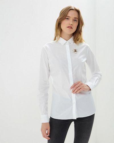 Белая рубашка с длинным рукавом Frankie Morello