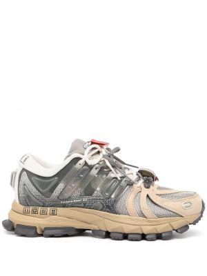 Массивные кроссовки - серые Li-ning