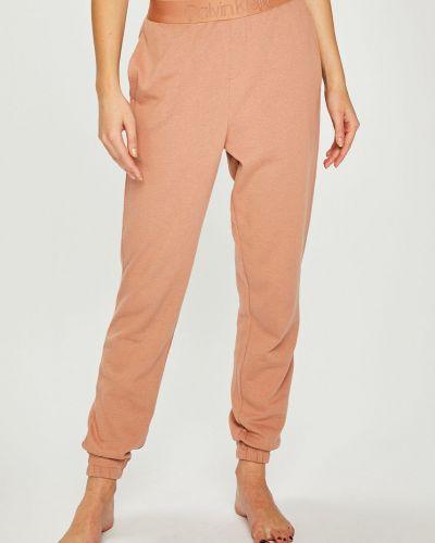 Нейлоновые розовые брюки на резинке с поясом с открытым носком Calvin Klein Underwear