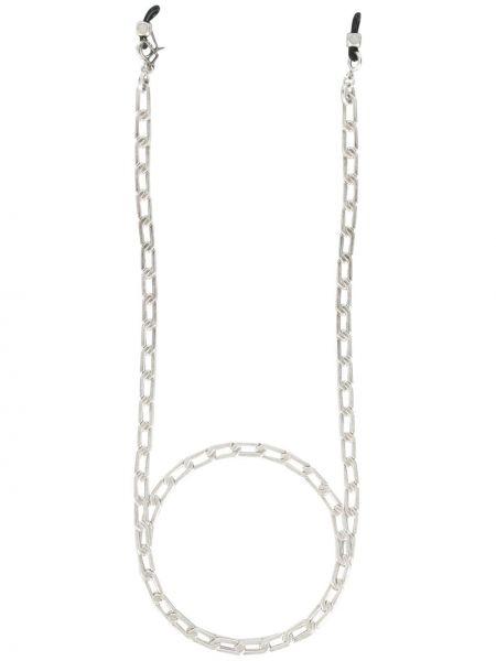 Srebro łańcuch ze srebra metal Emmanuelle Khanh