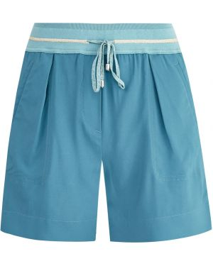 Спортивные шорты в складку с карманами Lorena Antoniazzi