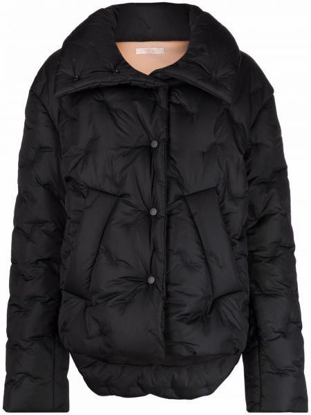 Черная куртка из полиэстера Ssheena