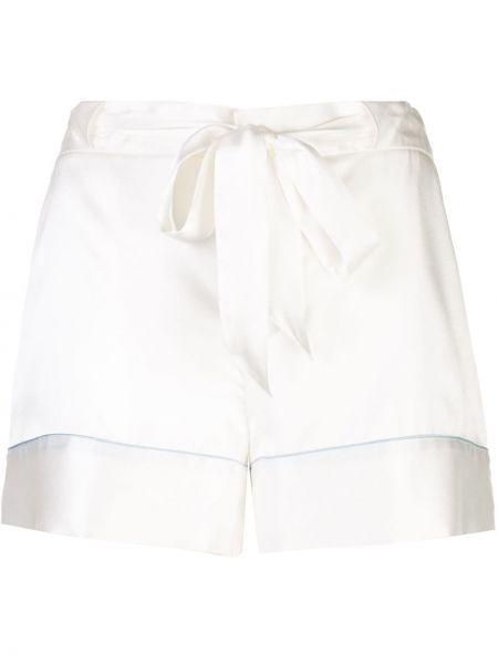 Пижамные белые шорты с карманами Kiki De Montparnasse