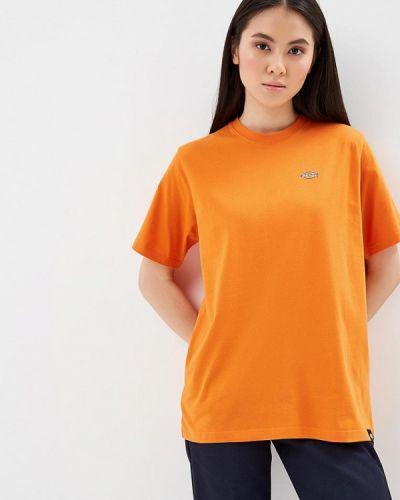 Оранжевая футболка Dickies