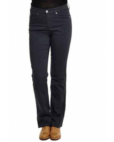 Хлопковые джинсы - синие Armani Collezioni