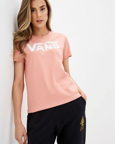 Розовое поло Vans