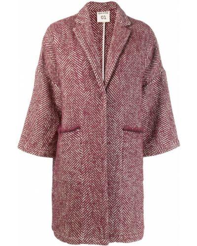 Пальто с капюшоном узкого кроя Semicouture