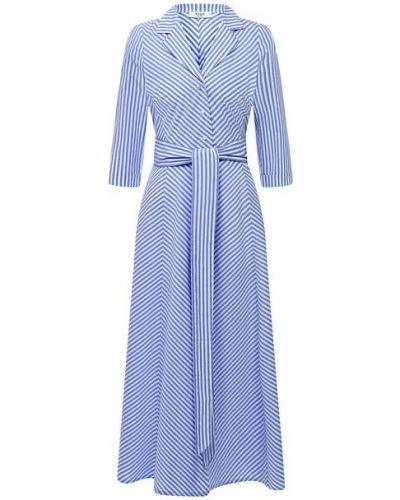 Хлопковое синее платье Weill