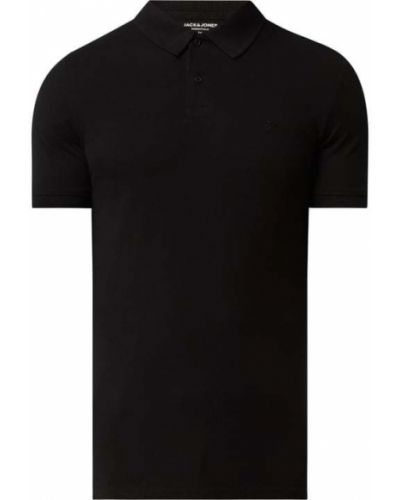 T-shirt bawełniana - czarna Jack & Jones