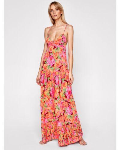 Różowa sukienka na lato Maaji