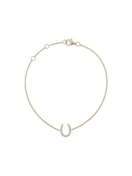 Bransoletka ze złota z diamentem metal Rosa De La Cruz