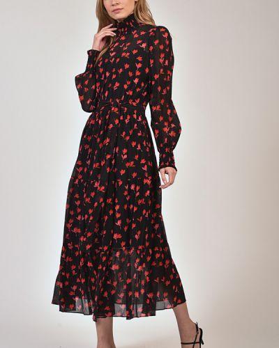 Шелковое платье Hugo