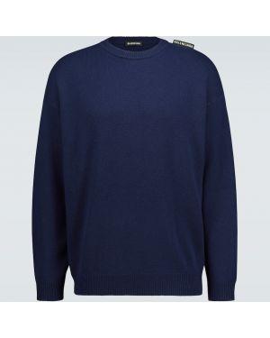 Sweter z dzianiny kaszmir Balenciaga
